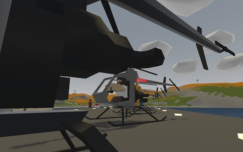 Мод Mosquito Light Helicopter для Unturned