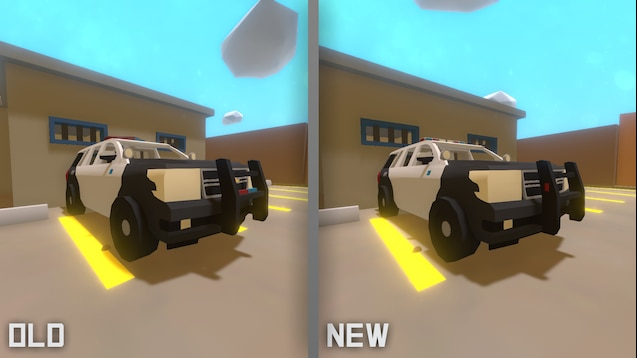 Мод на машины Chevy Supervisor [NEW UNITY] для Unturned